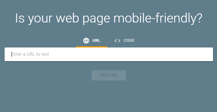 is your web page mobile-friendly?